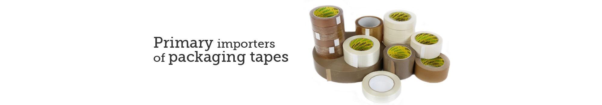 packaging tape banner